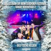 DJ AjeN Solo èn met Delftsche Helden op Winterdorp Festival